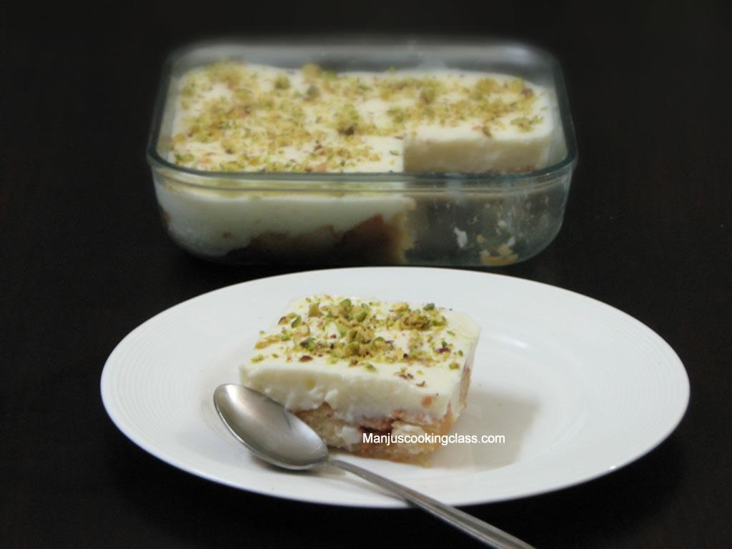 Eggless Desserts Class...