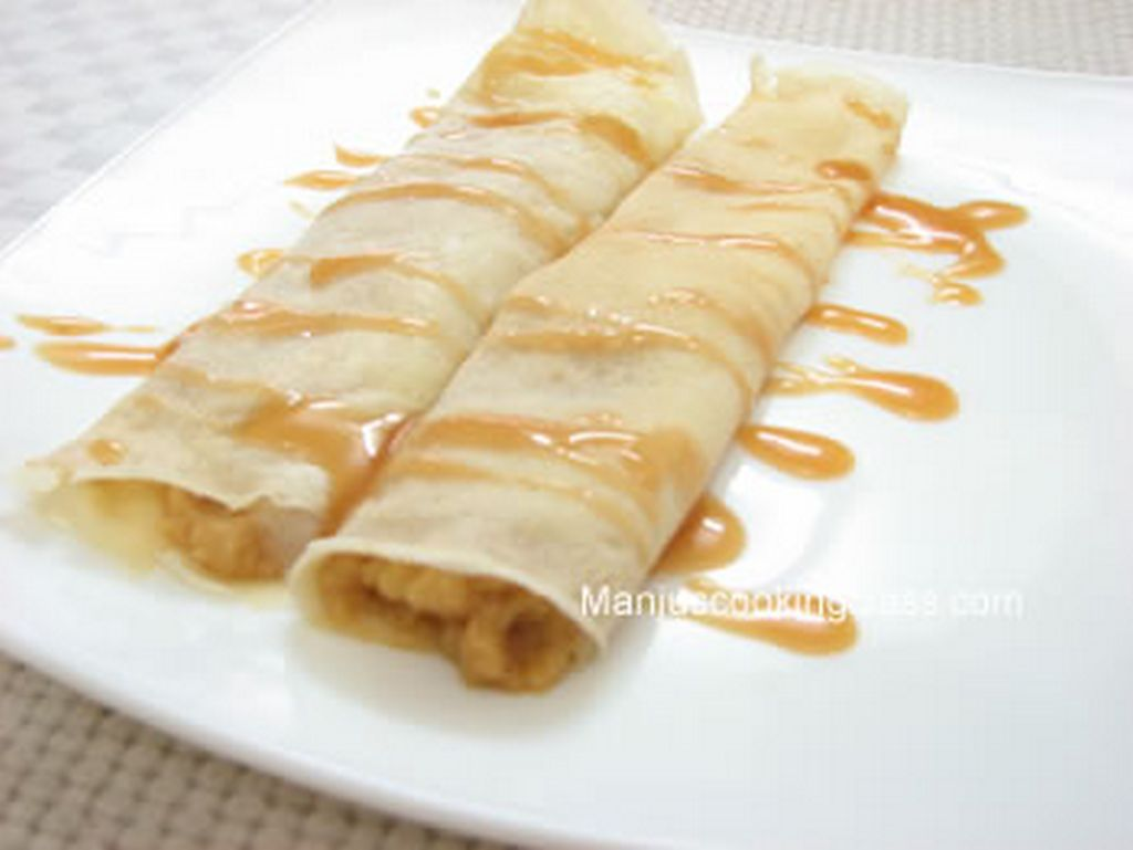 apple crepe