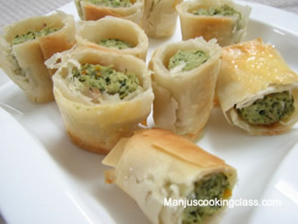 Baked Chicken Rolls