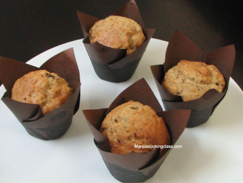 Banana Chocolate Muffin