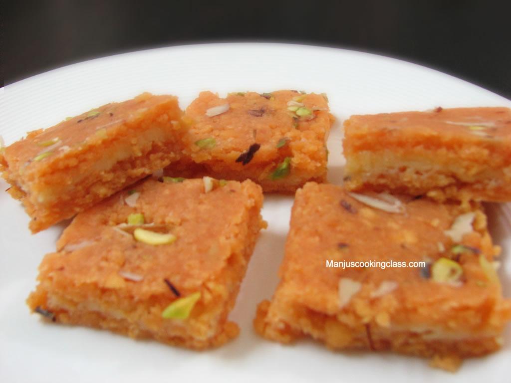 how to make kaju barfi in telugu