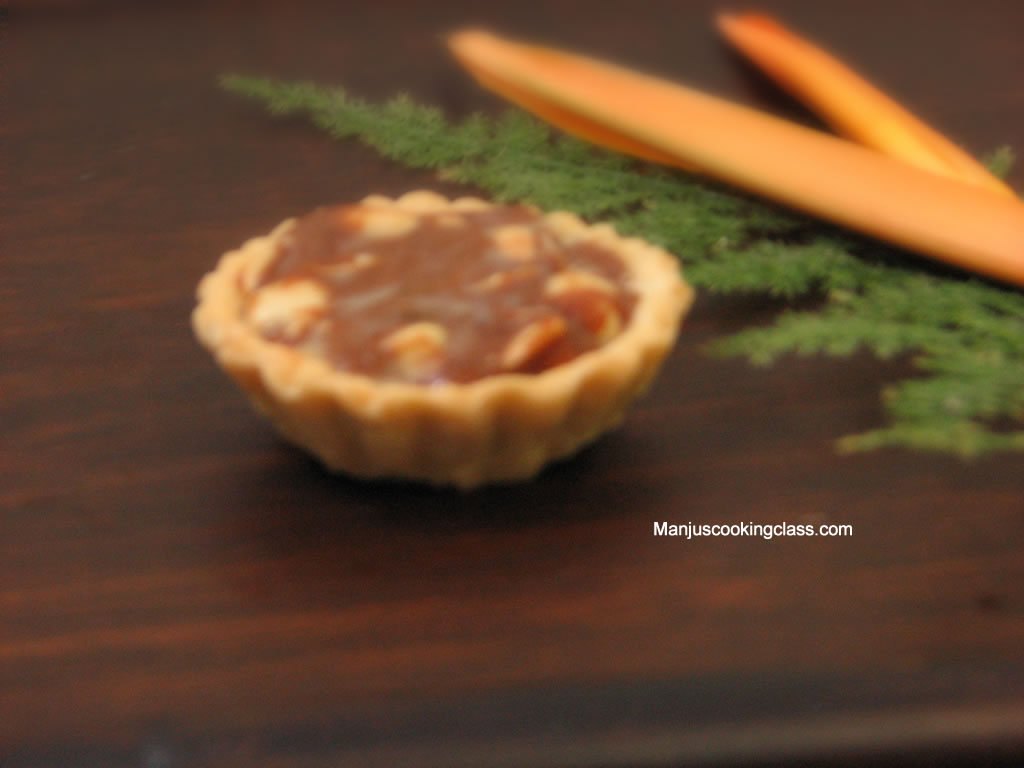 Butterscotch Fudge Tart