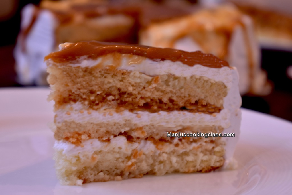 butterscotch pastry - Baking Classes in Bangalore