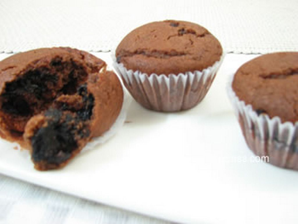 choco orange muffin