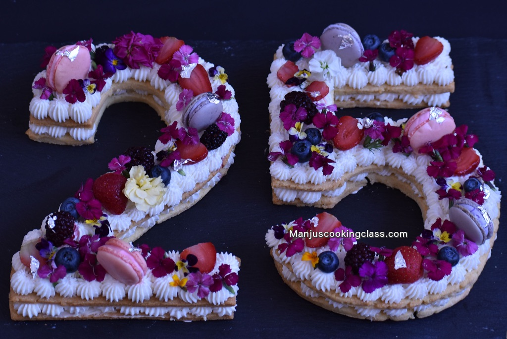 Cream Tart Number