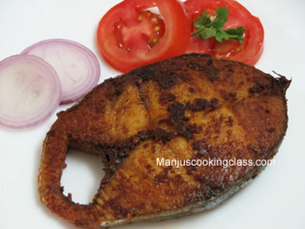 Indian Fish Cooking Class Bangalore India