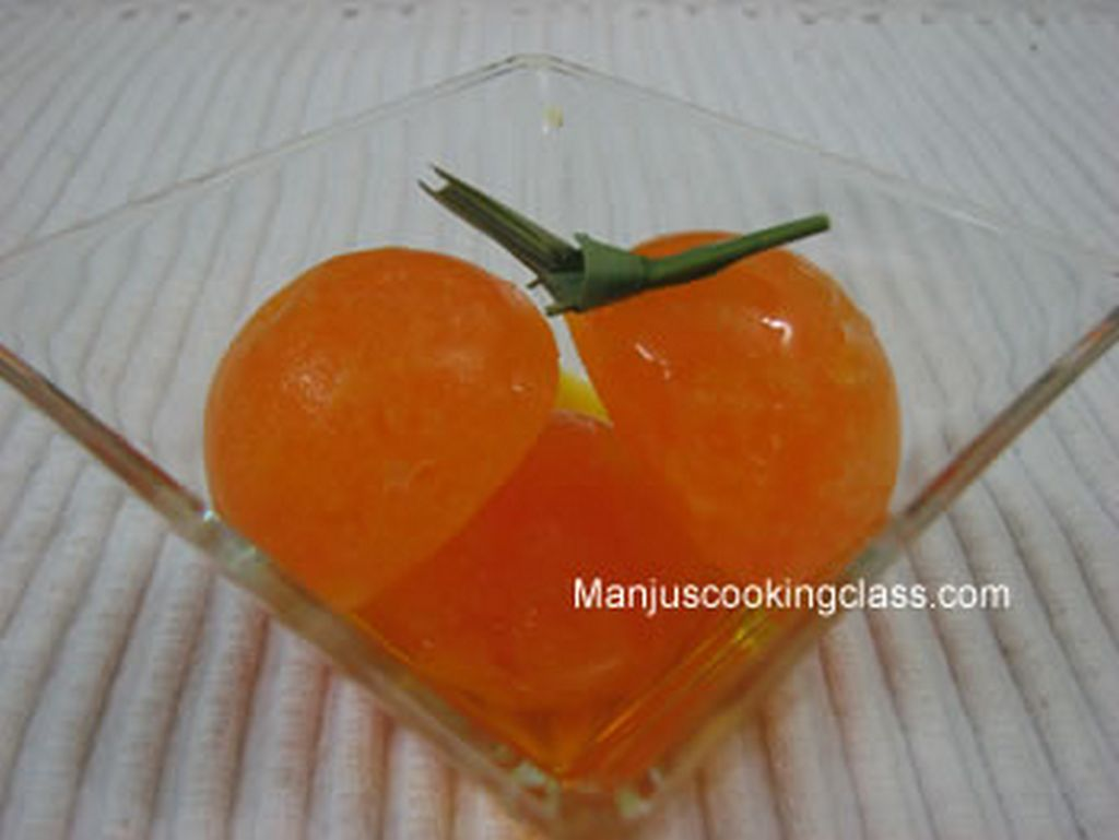 Mango Sorbet - Cooking Classes in Bangalore