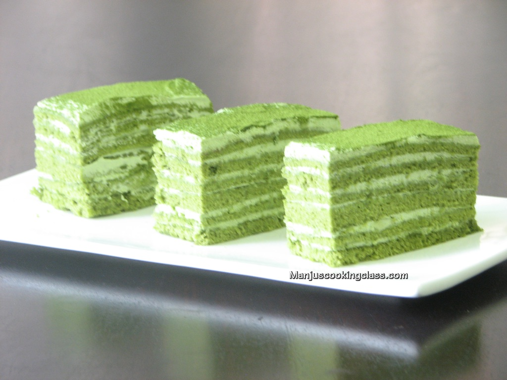 Matcha Mascarpone Cheese Cake