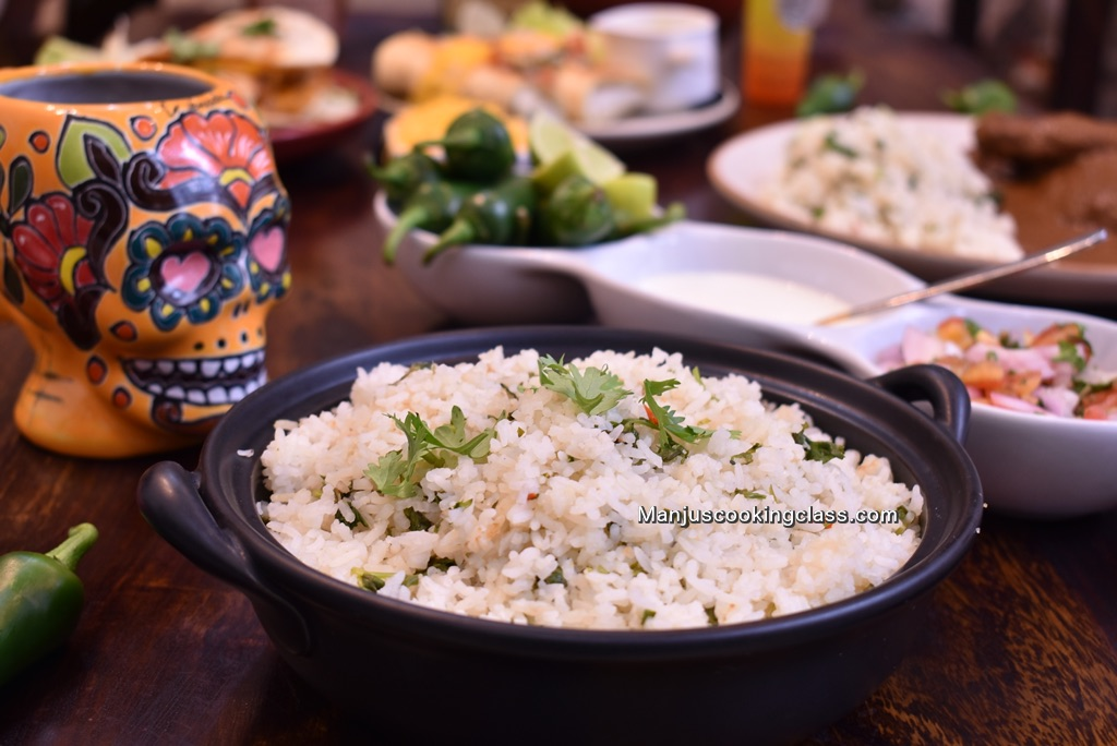 Mexican Cilantro Rice