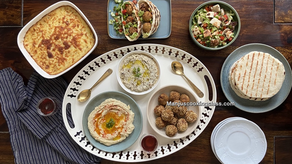 Vegetarian Middle Eastern Dishes Cooking Classes