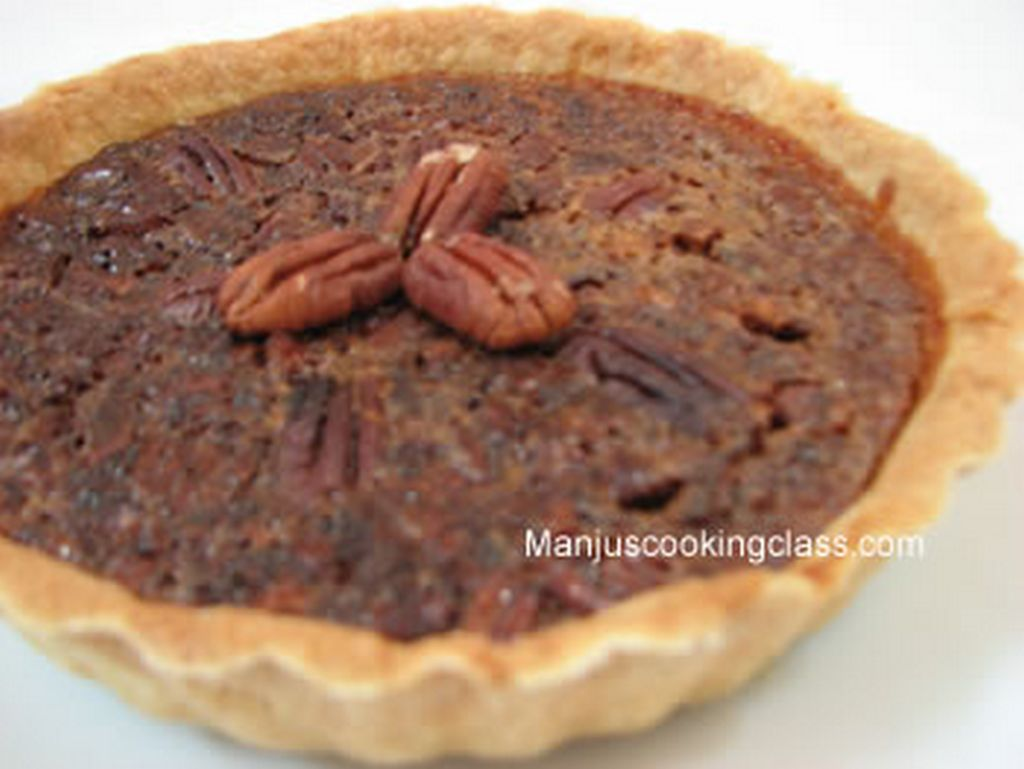 Pecan walnut pie