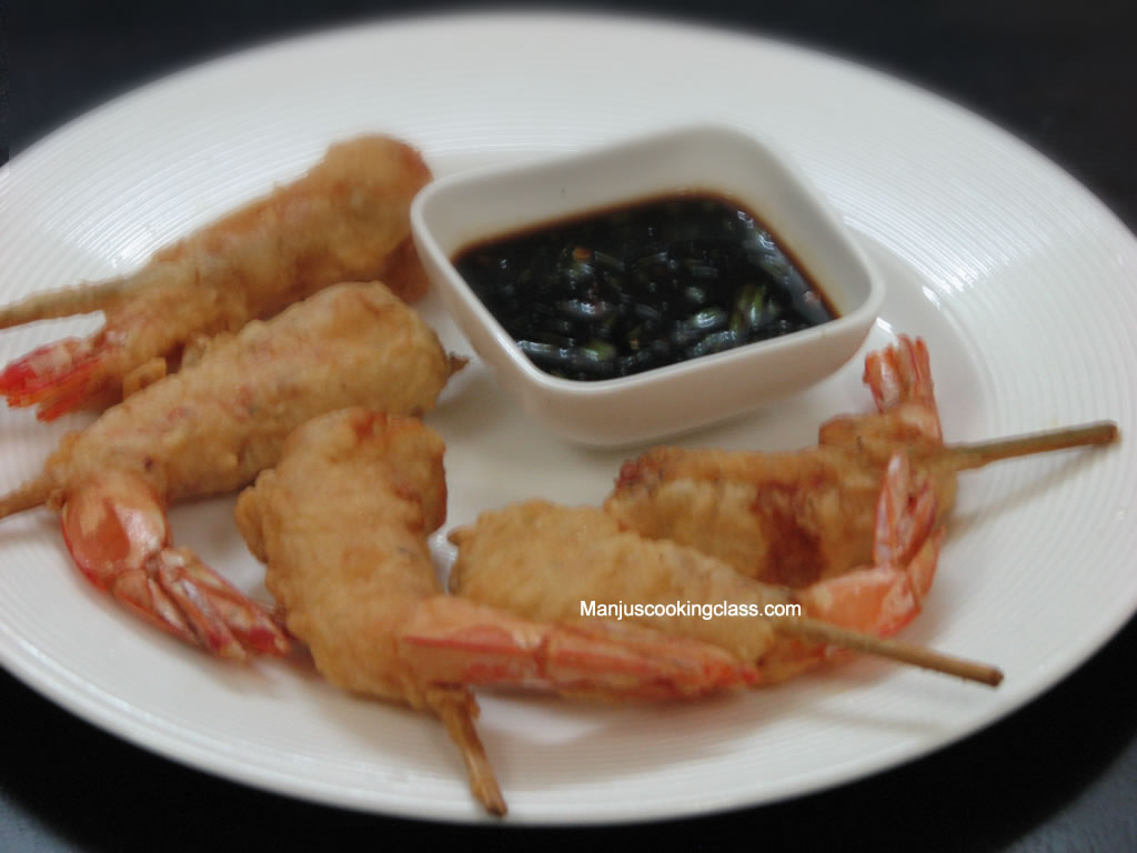 Batter Fried Prawns