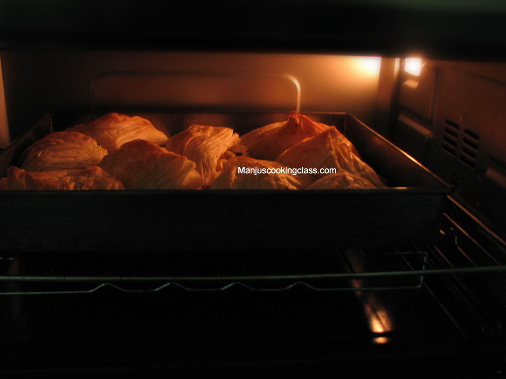 Puffs in Oven