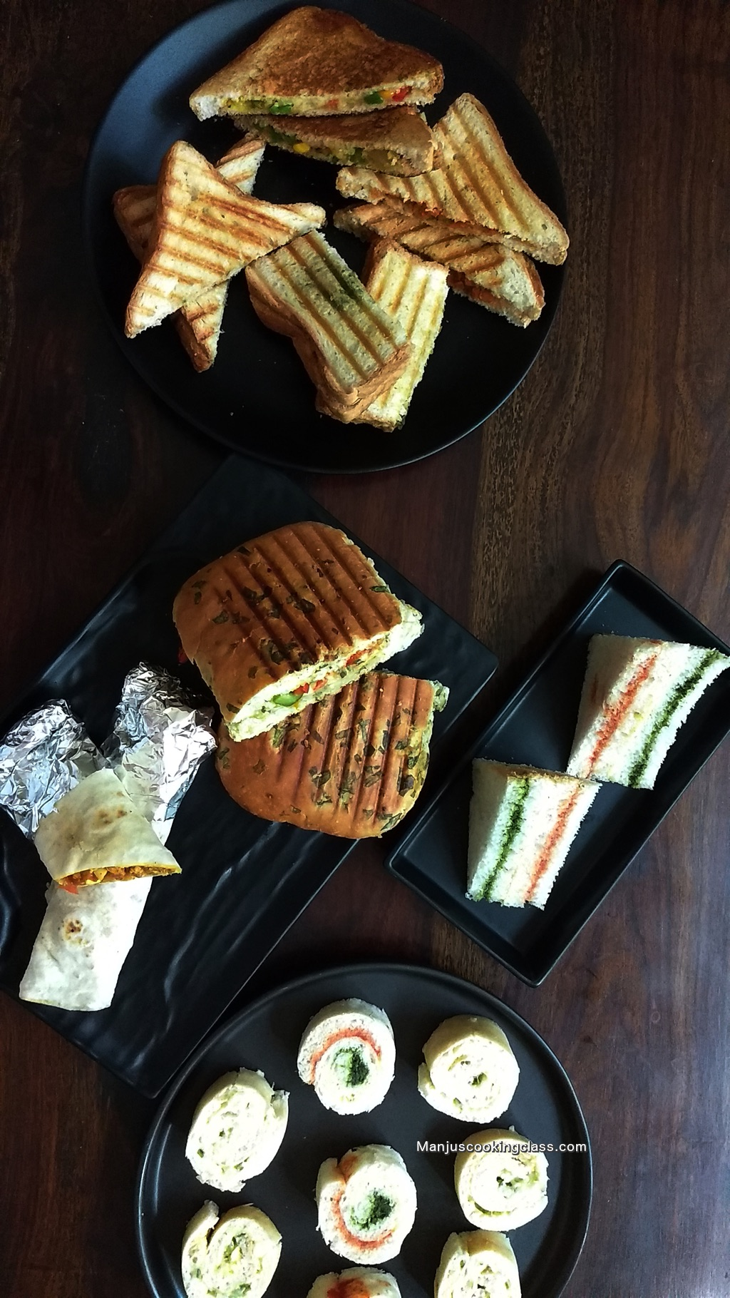Vegetarian Sandwiches and Wraps Class