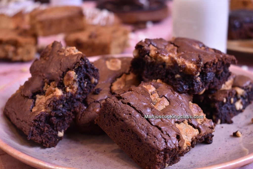 Sticky Peanut Brownie