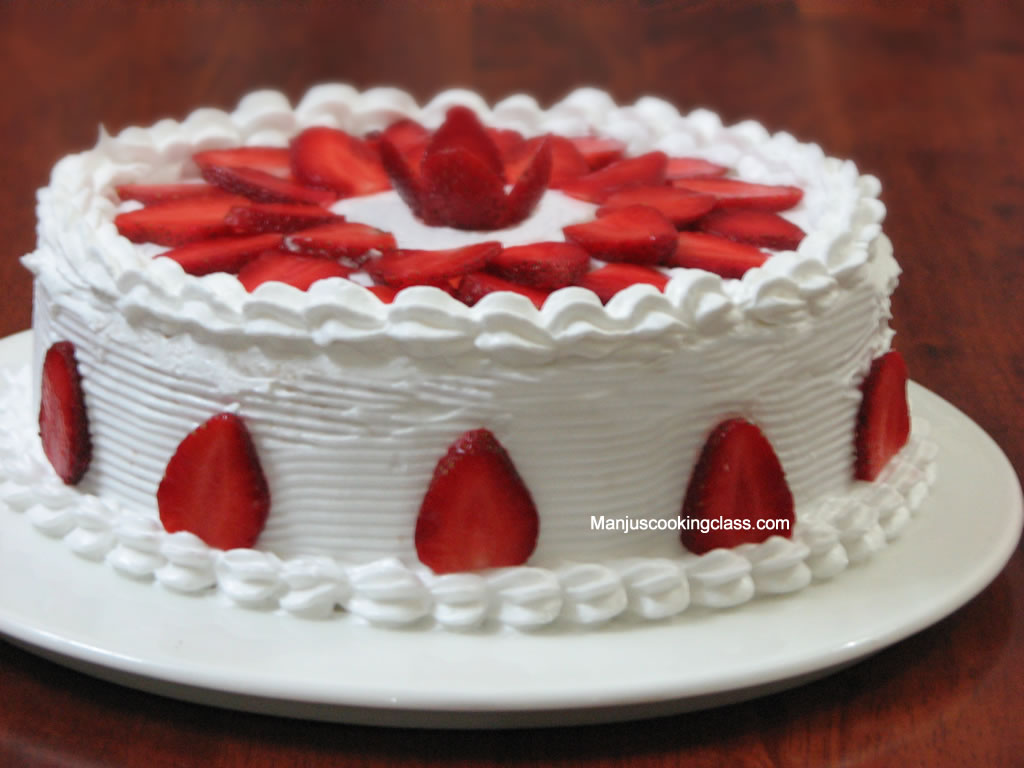 Cake Baking Classes : Strawberry Torte