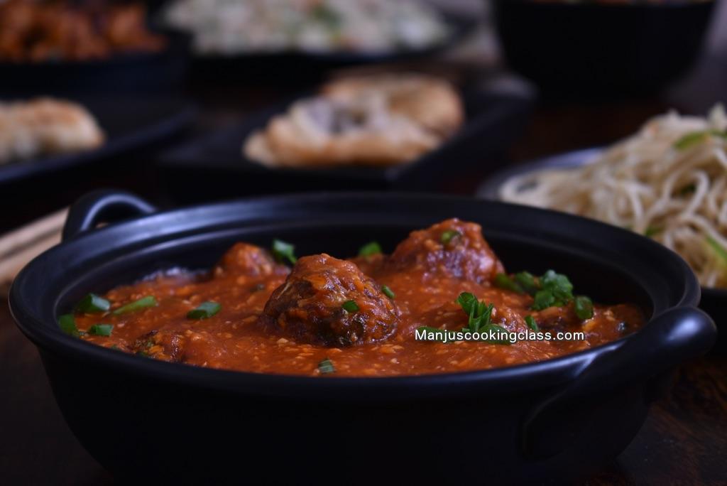 Vegetarian Chinese Cooking Classes Bangalore India
