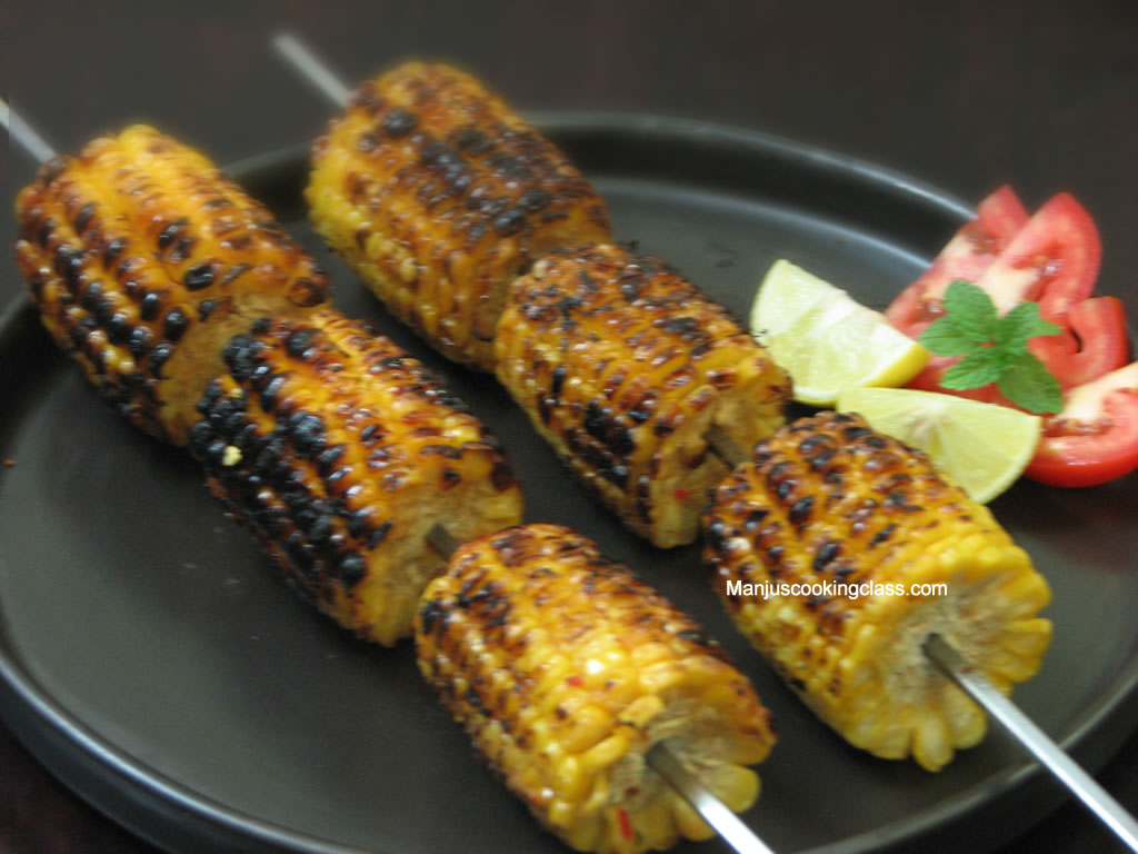 Chilli Corn on Cob