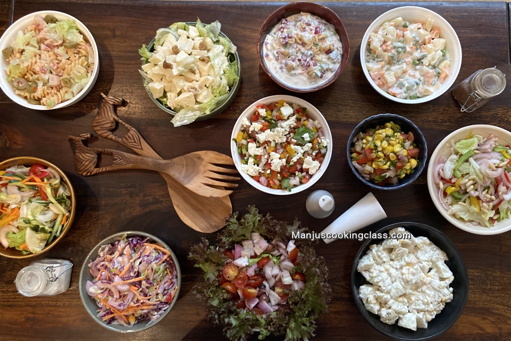 Vegetrarian Salads